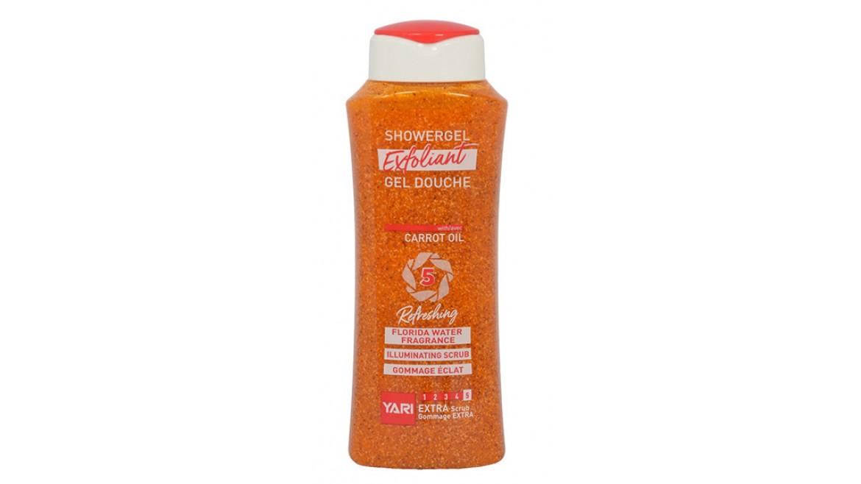 Yari Exfoliant Showergel Carrot Oil #5 Extra Scrub 500ml