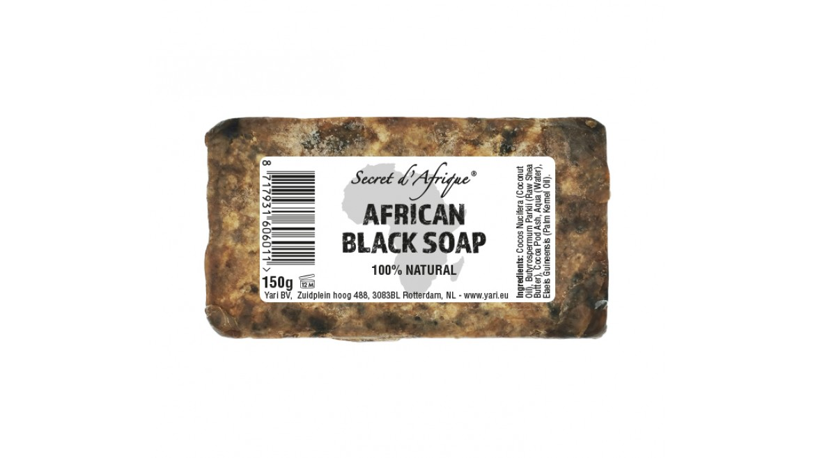 Secret d'Afrique African Black Soap 150g