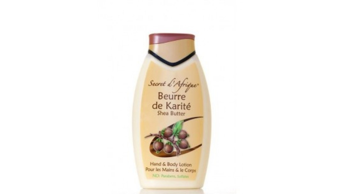 Secret d'Afrique Shea Butter Hand & Body Lotion 500 ml