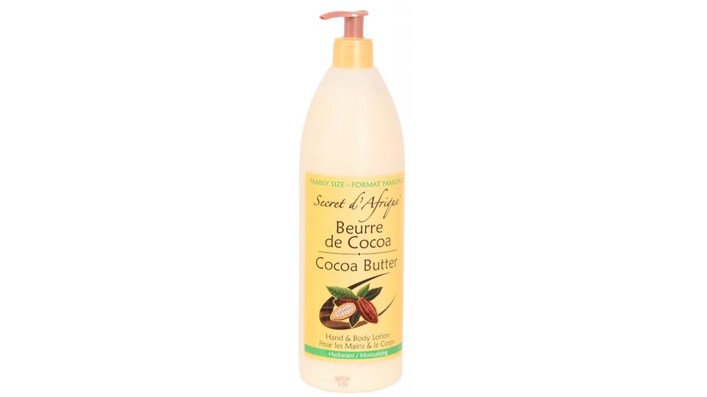 Secret d'Afrique Cocoa Butter Lotion 1L Family Size