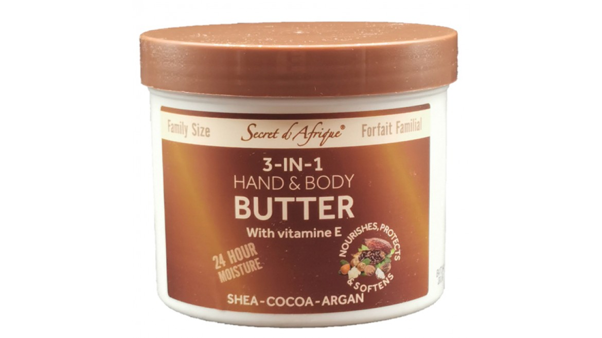 Secret d'Afrique 3 in 1 Hand & Body Butter 700g