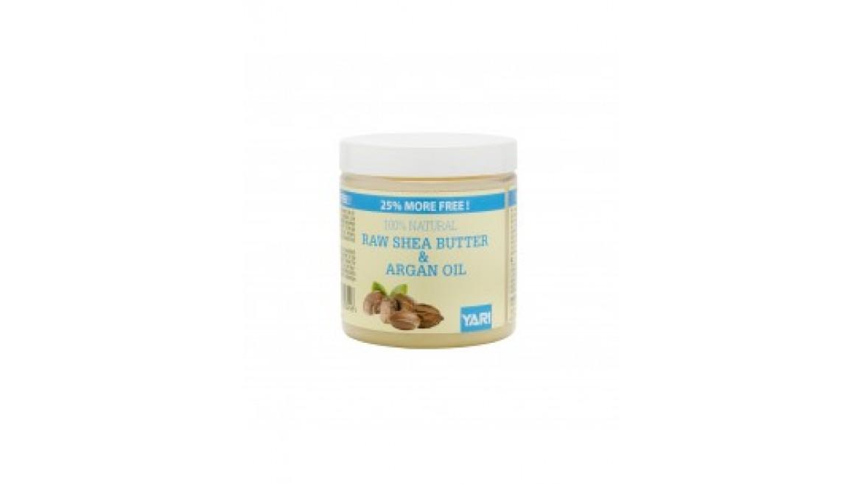 Yari 100% Raw Shea Butter & Argan Oil 250ml