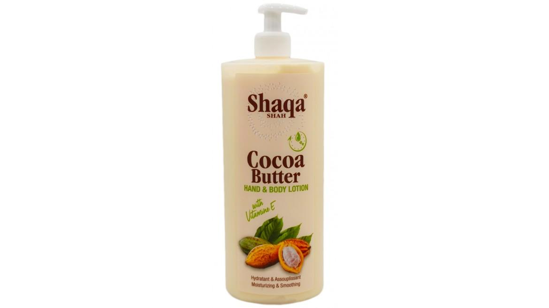 Shaqa Shah Cocoa Butter Hand & Body Lotion 32oz